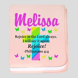 PHILIPPIANS 4:4 baby blanket