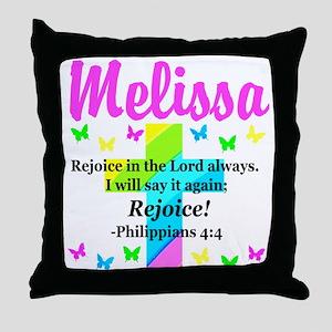 PHILIPPIANS 4:4 Throw Pillow