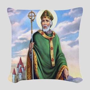 St. Patrick Woven Throw Pillow