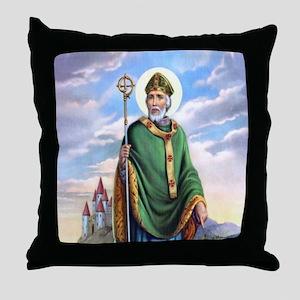 St. Patrick Throw Pillow
