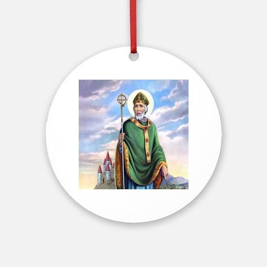 St. Patrick Ornament (Round)