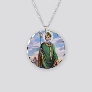 St. Patrick Necklace Circle Charm