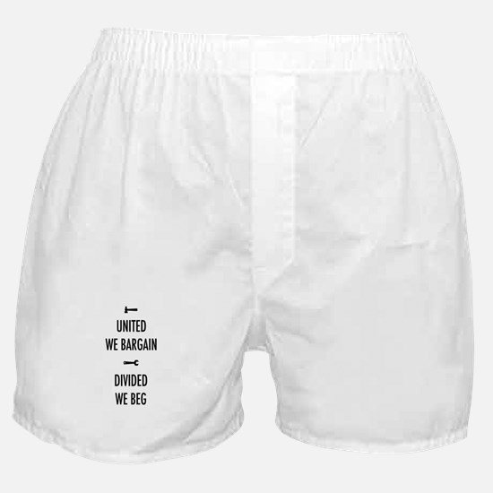 United We Bargain III Boxer Shorts
