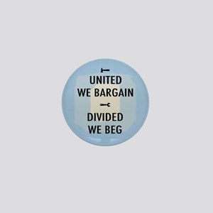 United We Bargain III Mini Button