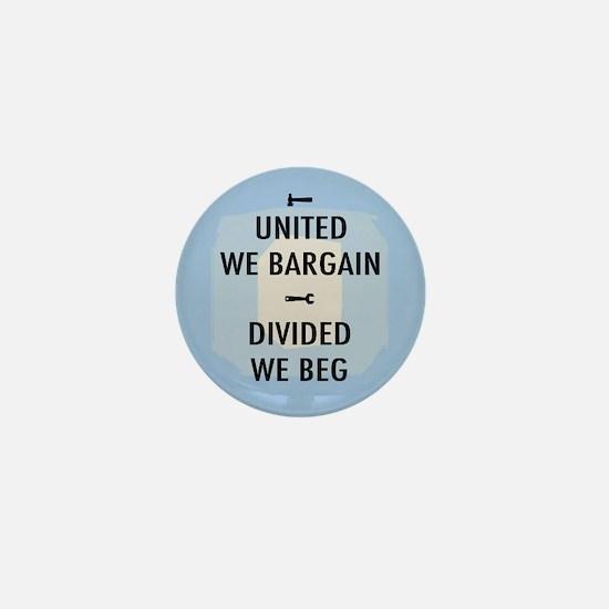 United We Bargain III Mini Button