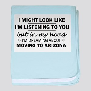 Moving to Arizona baby blanket