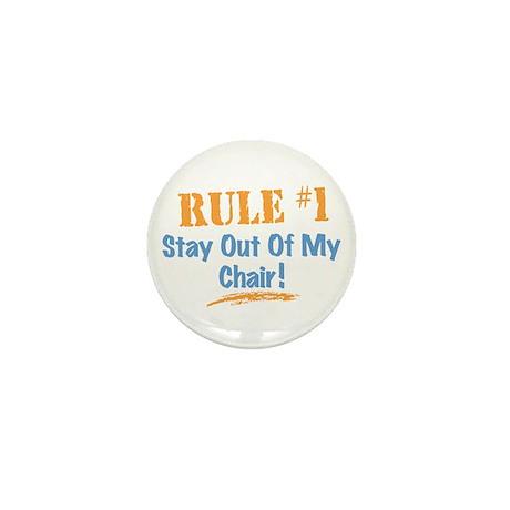Rule #1 Chair Mini Button (10 pack)