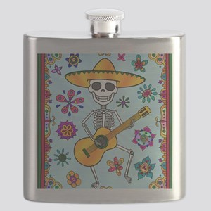 Best Seller Day of the Dead Flask