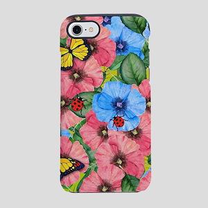 Floral scene iPhone 8/7 Tough Case