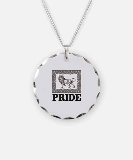 lion pride art Necklace