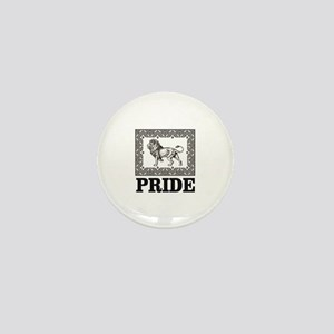 lion pride art Mini Button