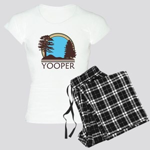 Vintage Retro Yooper Women's Light Pajamas