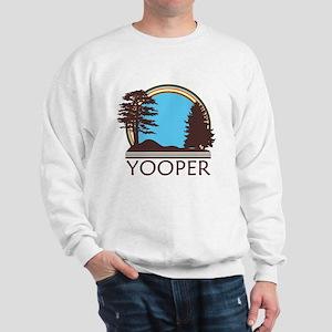 Vintage Retro Yooper Sweatshirt