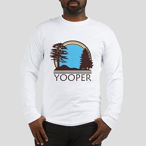 Vintage Retro Yooper Long Sleeve T-Shirt