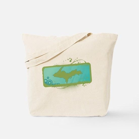 Cute Upper peninsula michigan Tote Bag