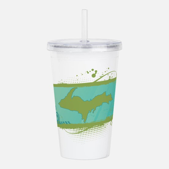 Unique Mi Acrylic Double-wall Tumbler