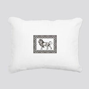 open king of beasts Rectangular Canvas Pillow