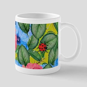 Floral scene Mugs