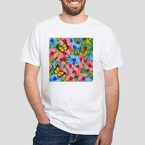 Floral scene T-Shirt