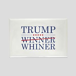 Trump Winner Whiner Rectangle Magnet