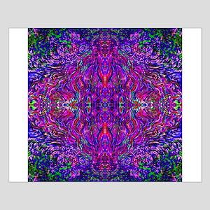 Purple Fractal Pink Posters
