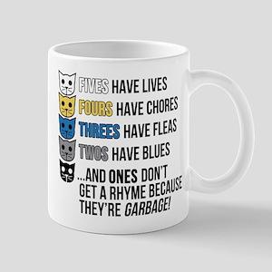 MeowMeowBeenz Rhyme Mugs