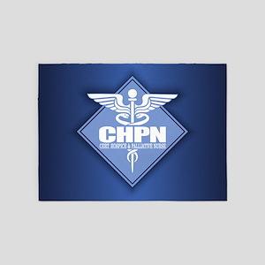 Certified Hospice & Palliative Nurse 5'x7'Area Rug