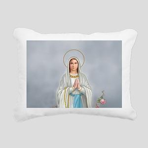 Blessed Virgin Mary Rectangular Canvas Pillow