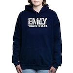 Emily Wants to Play series logo Sweatshirt