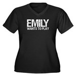 Emily Wants to Play series logo Plus Size T-Shirt