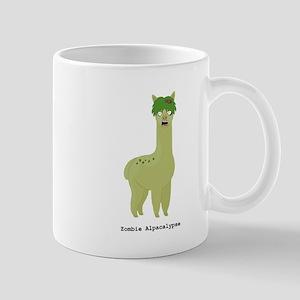 Zombie Alpacalypse Mugs