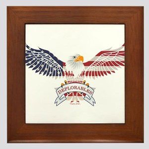 Deplorables Framed Tile