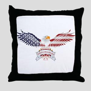 Deplorables Throw Pillow