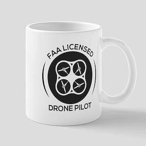 FAA LICENSED DRONE PILOT Mugs