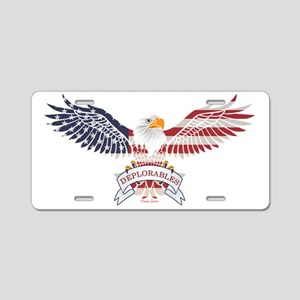 Deplorables Aluminum License Plate