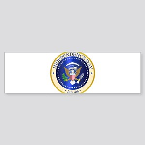Independence Day Seal Bumper Sticker