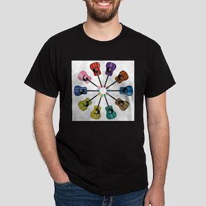 Acoustic Guitar Circle T-Shirt
