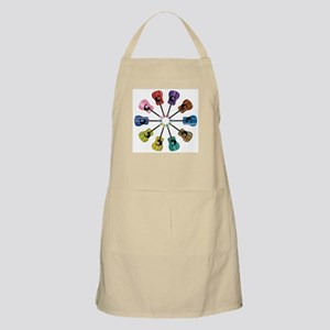 Acoustic Guitar Circle Apron