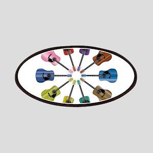 Acoustic Guitar Circle Patch