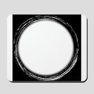Circle Copy Space Mousepad