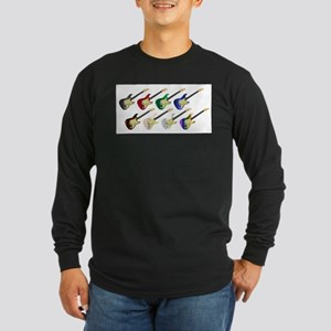 Electric Guitar Collection Long Sleeve T-Shirt