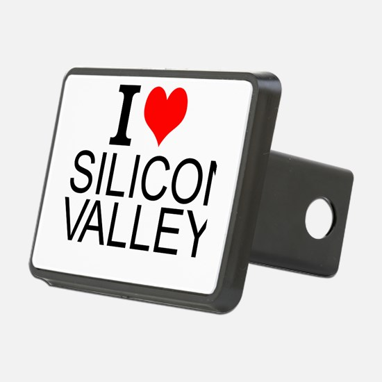 I Love Silicon Valley Hitch Cover