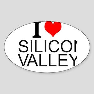 I Love Silicon Valley Sticker