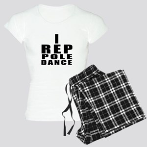I Rep Pole Dance Dance Women's Light Pajamas