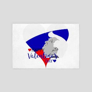 donald trump valentine 4' x 6' Rug