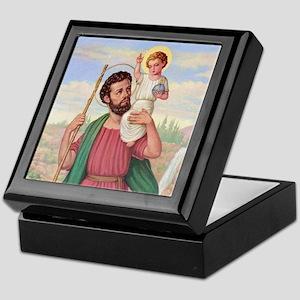 St. Christopher Keepsake Box