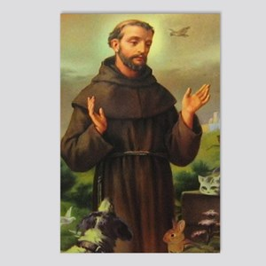 St. Francis Of Assisi Postcards (package Of 8)