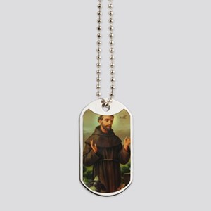 St. Francis Of Assisi Dog Tags