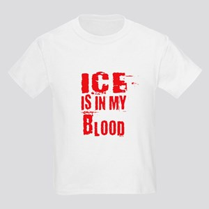 Ice is in my Blood Kids Light T-Shirt