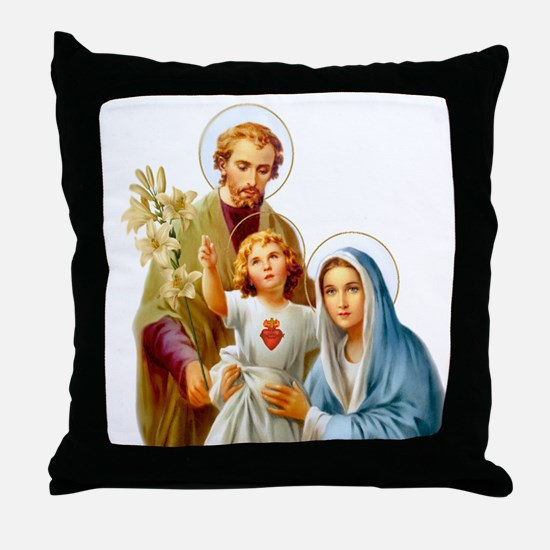 The Holy Family (Style 2) Throw Pillow